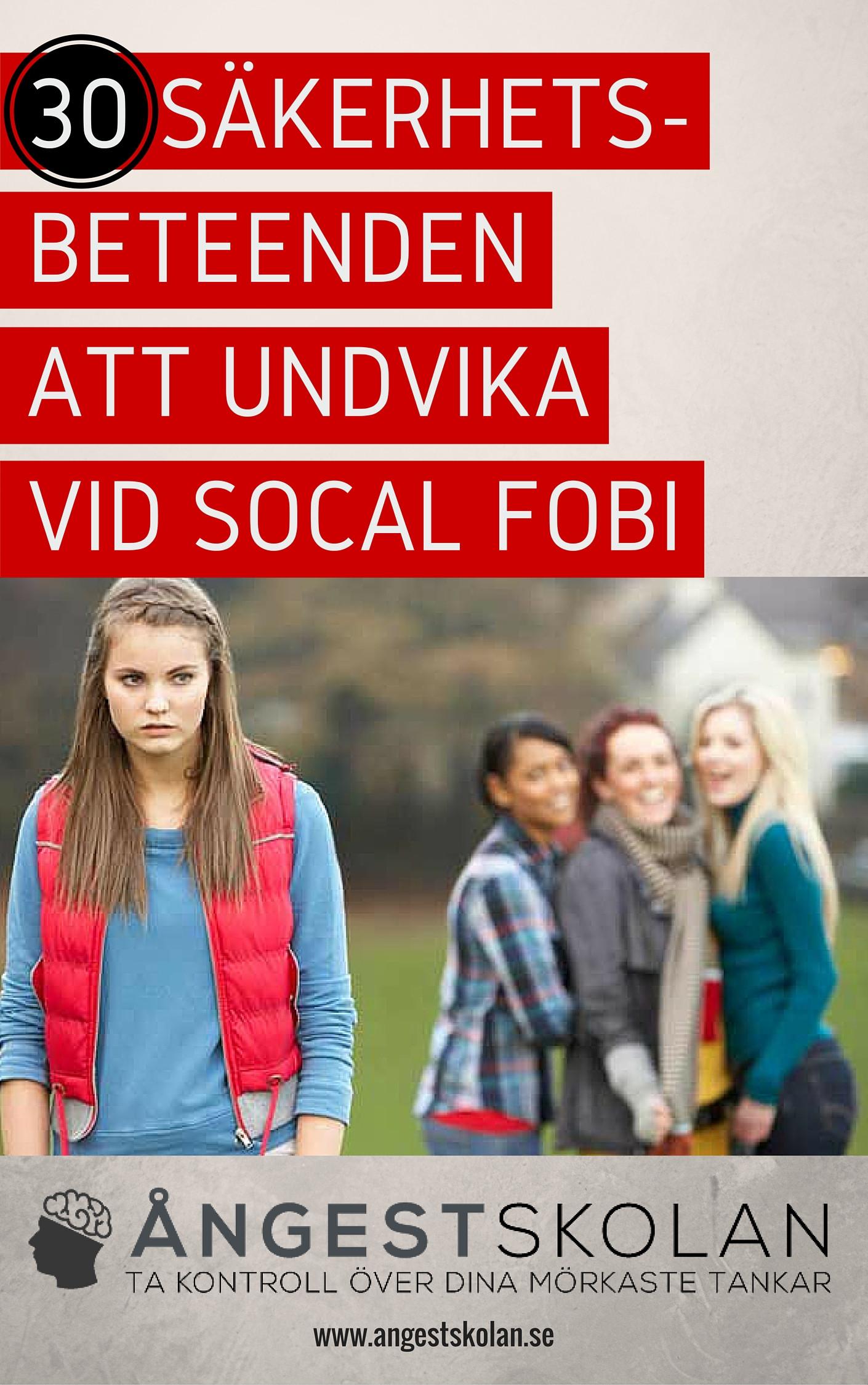 Dejtingsida för social fobi