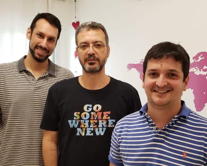 Daniel Sousa, João Felipe e Tanguy Baghdadi