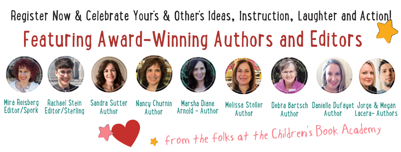Click here to learn about Picture Book Palooza at the Children's Book Academy