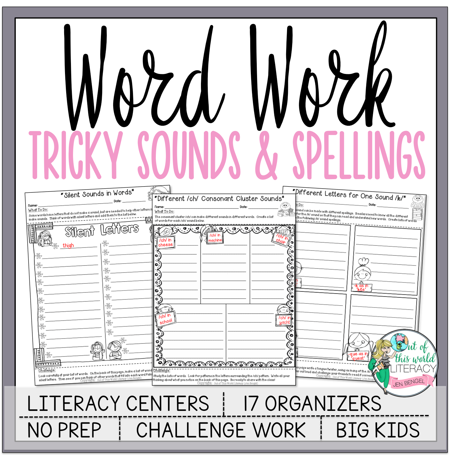 Word Work Tricky Sounds And Spellings Jen Bengel