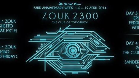 ZOUK 23RD ANNIVERSARY WEEK - DAY 2: MAMBO JAMBO