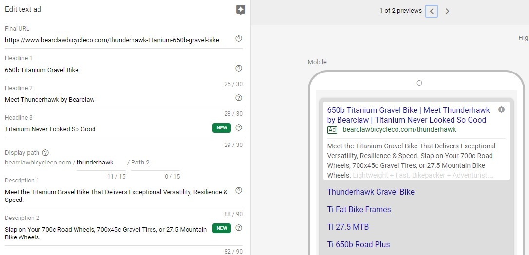 Google Ads Tips and Tricks Expanded Text Ads