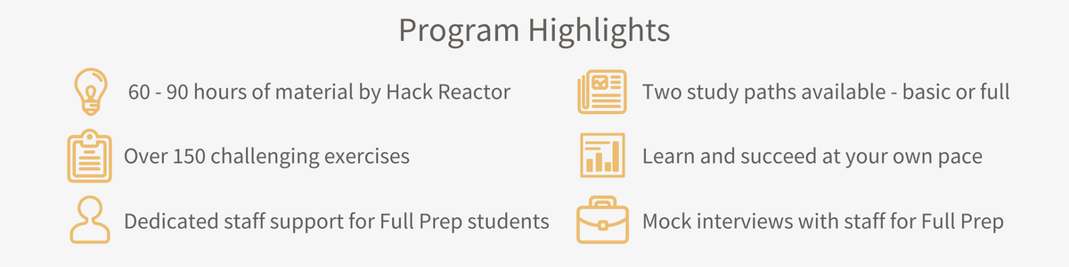 New Prep Program Highlights