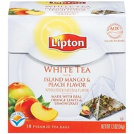 White Tea with Island Mango and Peach Flavor from Lipton