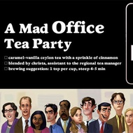 A Mad Office Tea Party from Adagio Custom Blends, Christa Y