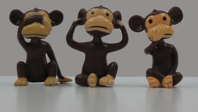 3 mistakes monkeys