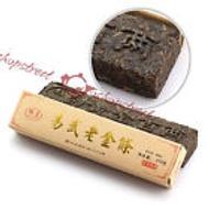 2008 Yunnan Yiwu Aged Golden Strip Puerh Ripe Brick Chinese Black Tea from EBay Streetshop88