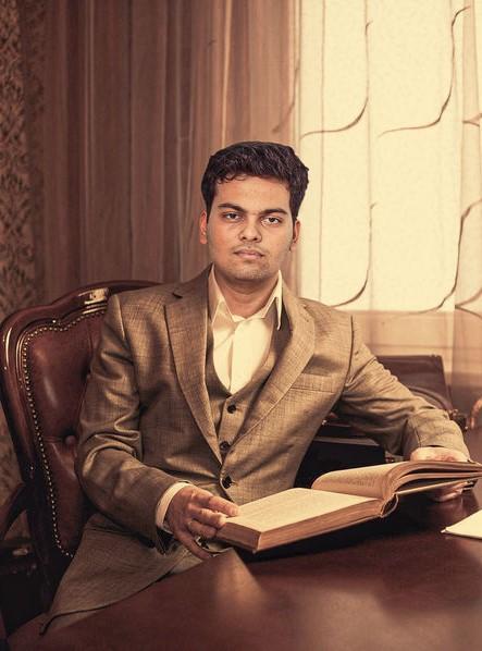 Sagar Bansal In His Home