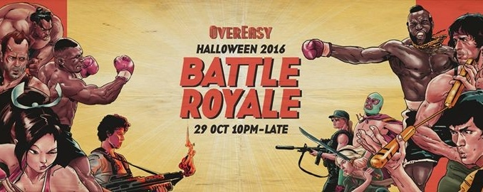 Battle Royale: Halloween 2016