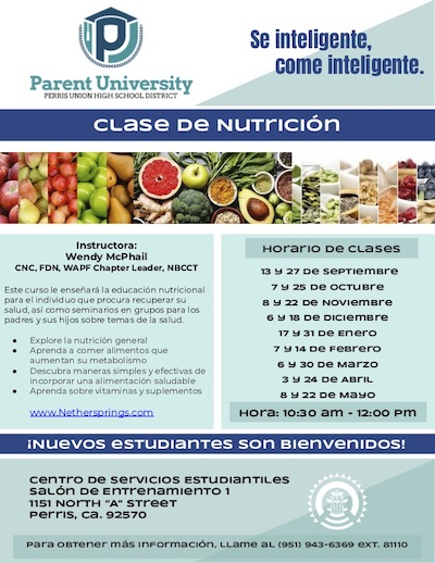 2019-20 Nutrition Parent University Flyer (Spanish)_400.jpg