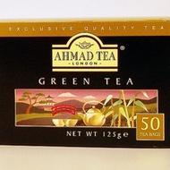 Green Tea from Ahmad Tea
