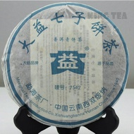 2006 TAE TEA DaYi 7542 from King Tea Mall (AliExpress)