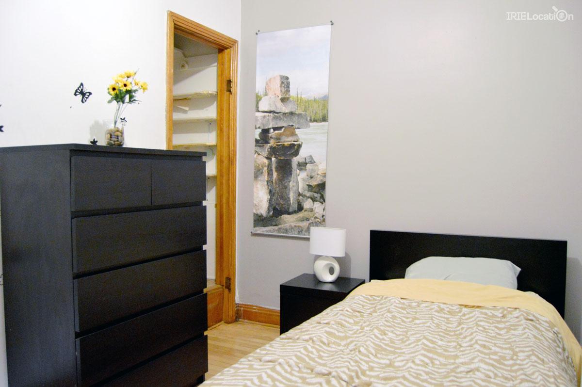 Chambre étudiante à louer avec lit simple