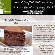 Chocolate Cheesecake Chai from 52teas