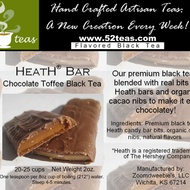 Heath® Bar Chocolate Toffee Black Tea from 52teas