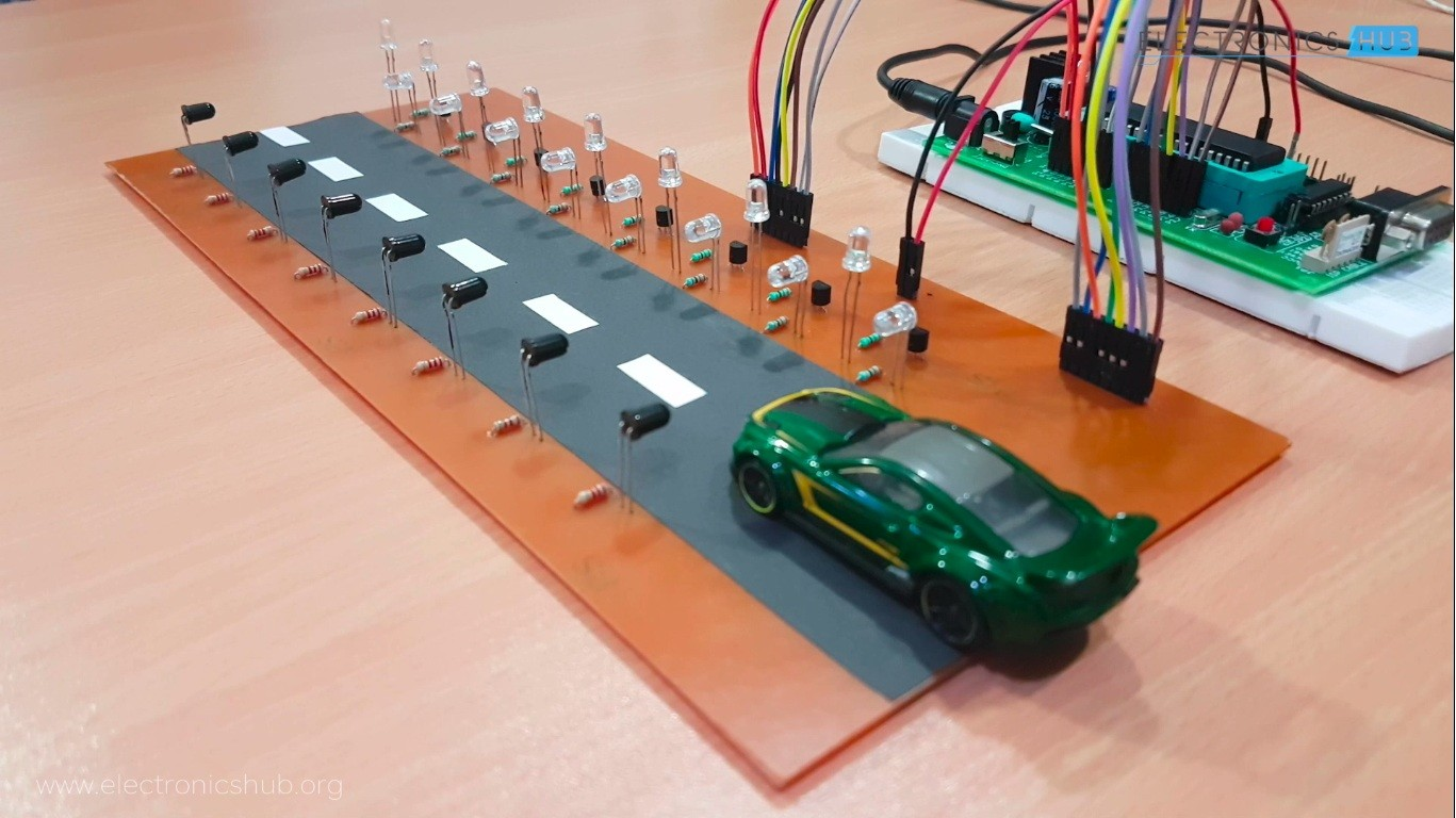 Street lights glow on detecting vehicles movement electronics hub about this course it is designed for anyone who are interested in developing 8051 based projects as this will introduce the 8051 hardware and programming solutioingenieria Gallery