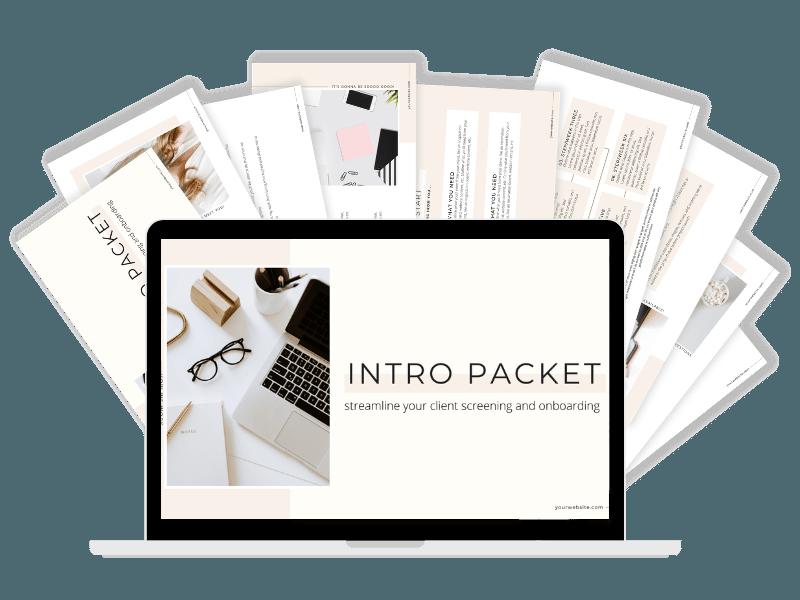 Intro Packet Workshop + Template Bundle