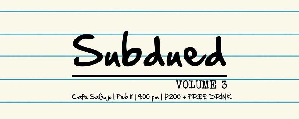 SUBDUED Volume 3: PARES