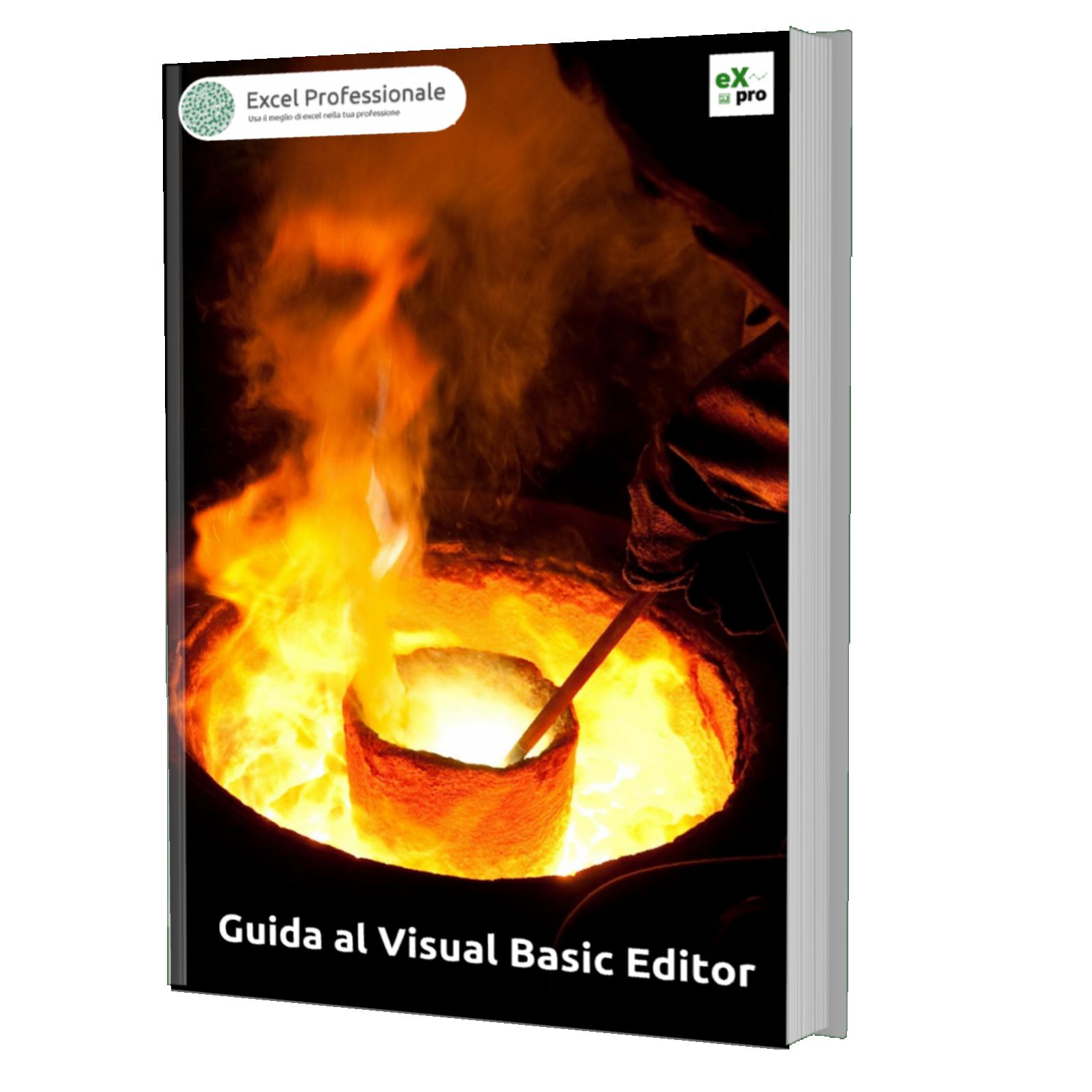 Guida al Visual Basic Editor