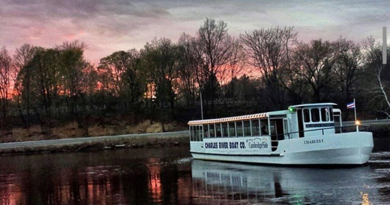 Take In The Spectacular Scenery Of Boston And Cambridge From Serene Waters Charles River