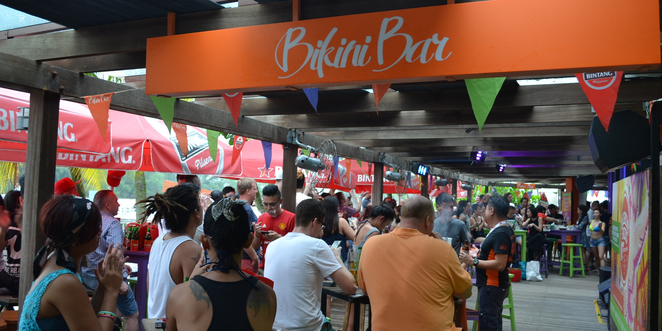 Bikini Bar at Sentosa to kick off live rock performance series Beerkini Rocks with Sweatshop Jam and The Illicit Edition
