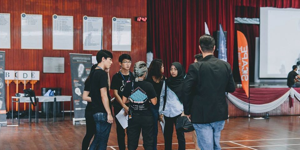 The Kids Are Taking Over: *SCAPE Invasion at East View Secondary School