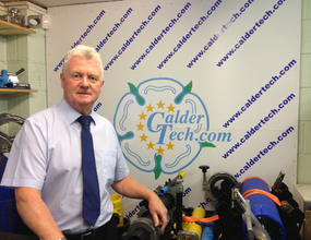 Caldervale Technology MD, Gordon Lilley