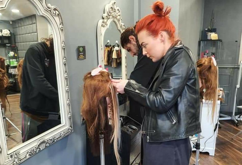 iHobbs hair extensions student
