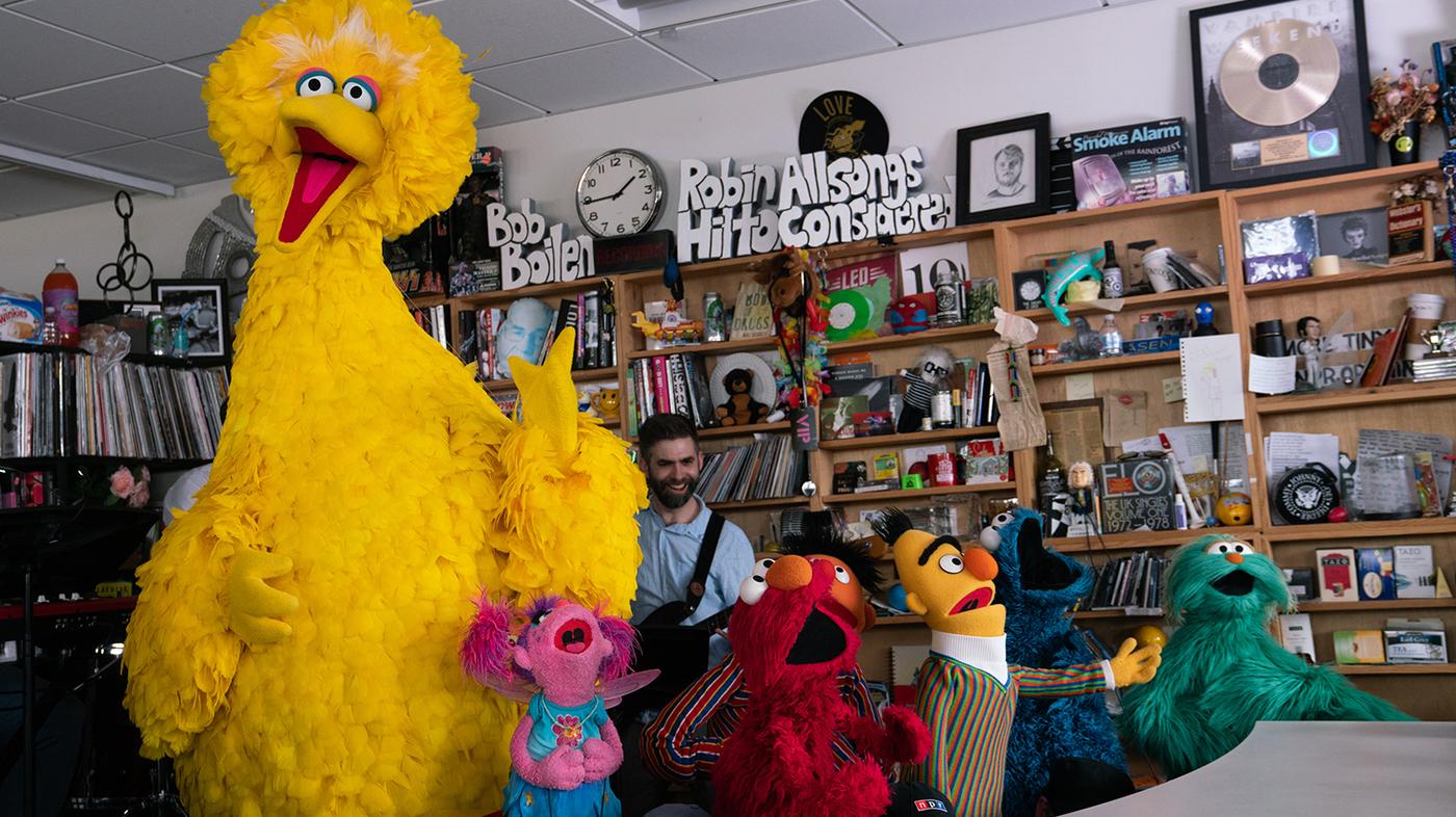 Sesame Street NPR Tiny Desk Concert