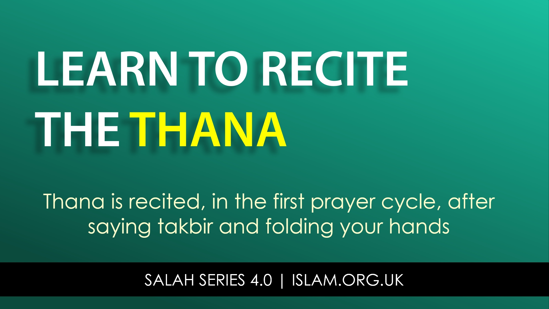 Salah Series: Video Development Support | Islam (Powered by Donorbox)