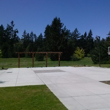 Basketball Court/Patio