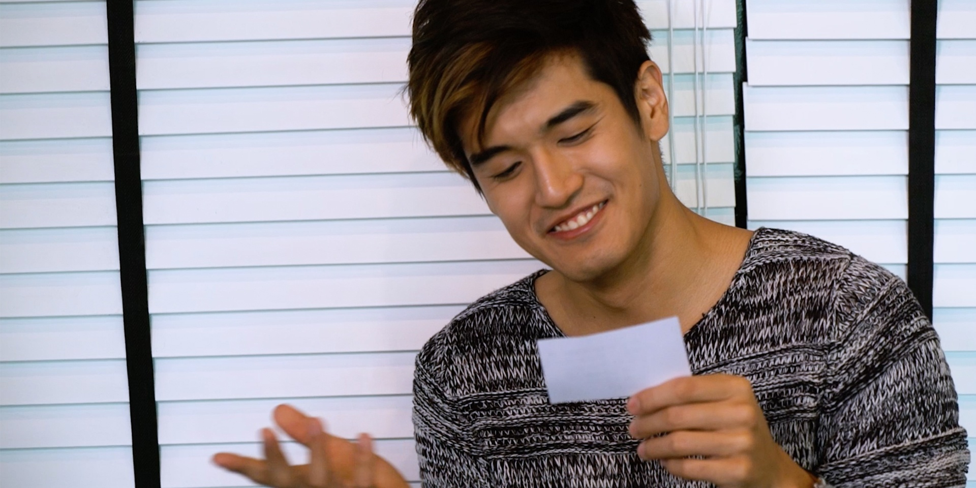 Bandwagon TV puts Nathan Hartono through his worst nightmare: a Chinese idiom quiz – watch