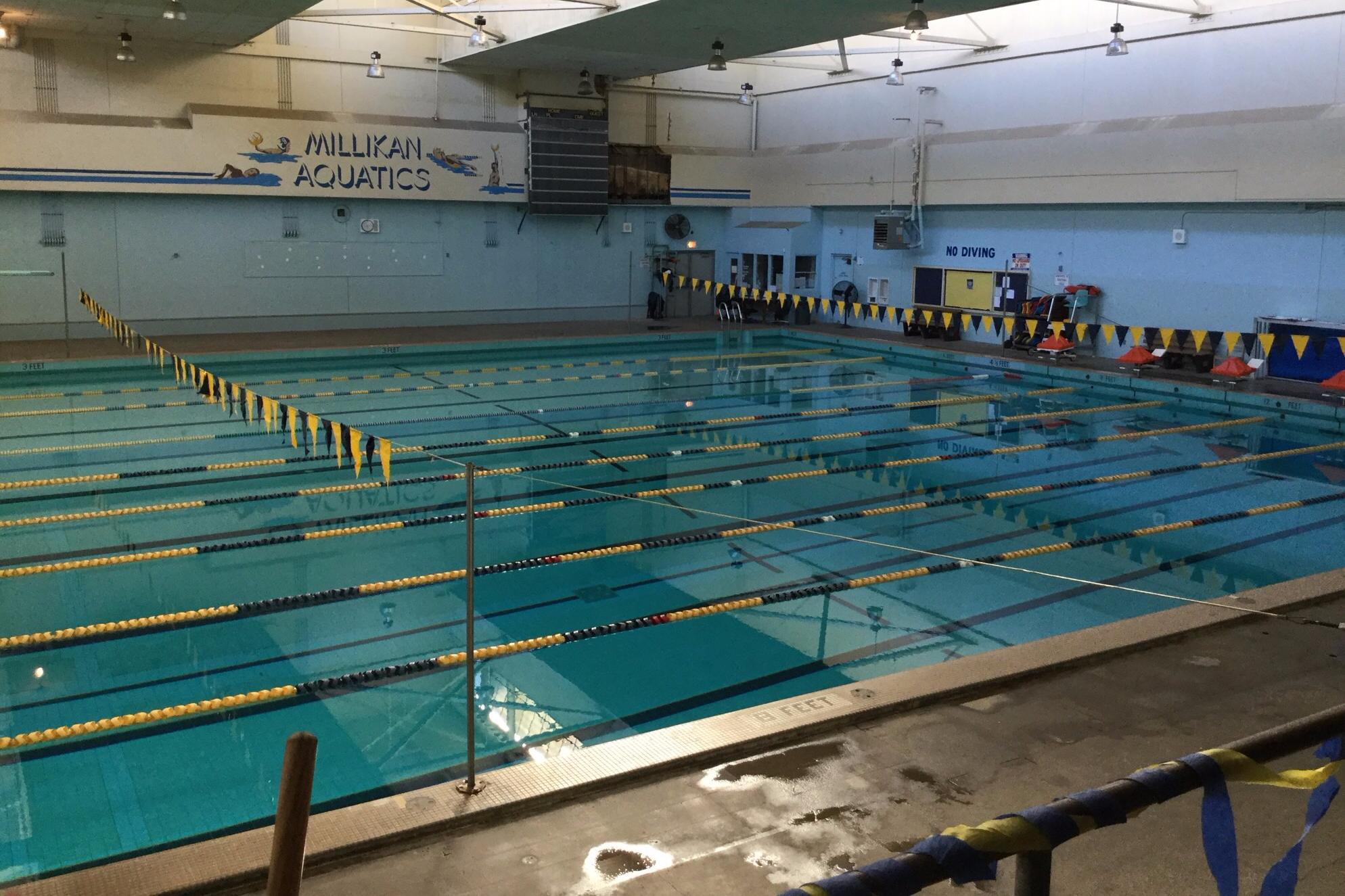 Lbusd Facilities Millikan High School Pool