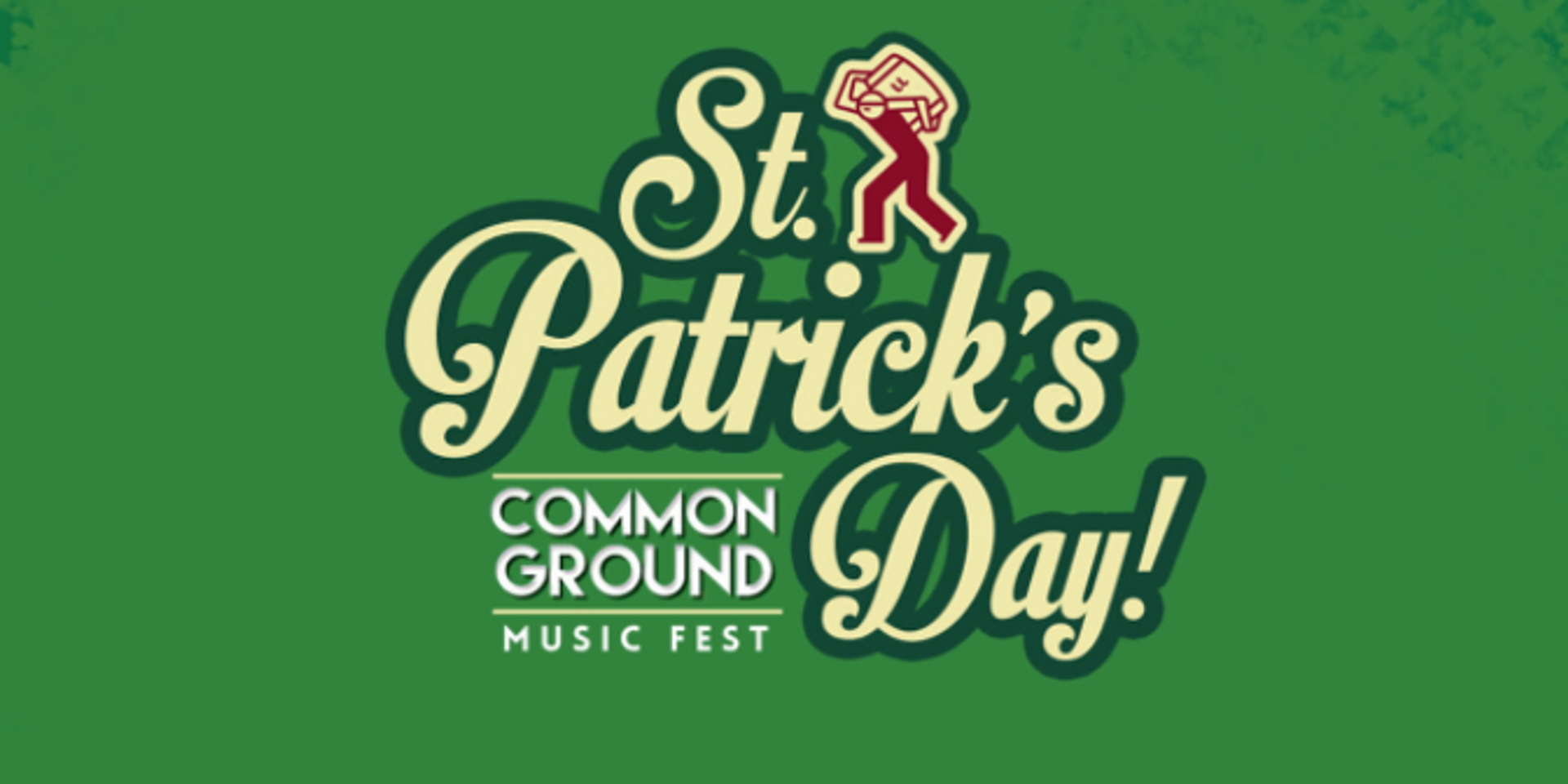 Celebrate St. Patrick's Day with Jameson Irish Whiskey at the Common Ground Music Fest