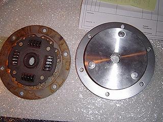 R&D Marine damper plate
