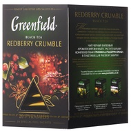 Redberry crumble from Greenfield