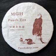 2013 MGH 1303 Mangshui Ancient Tree Green Pu-erh Tea Cake 357g from Puerh Shop