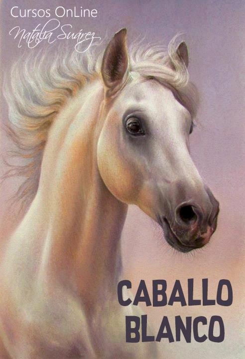 Caballo Blanco - Nivel 1 Animales - Pastel Studio