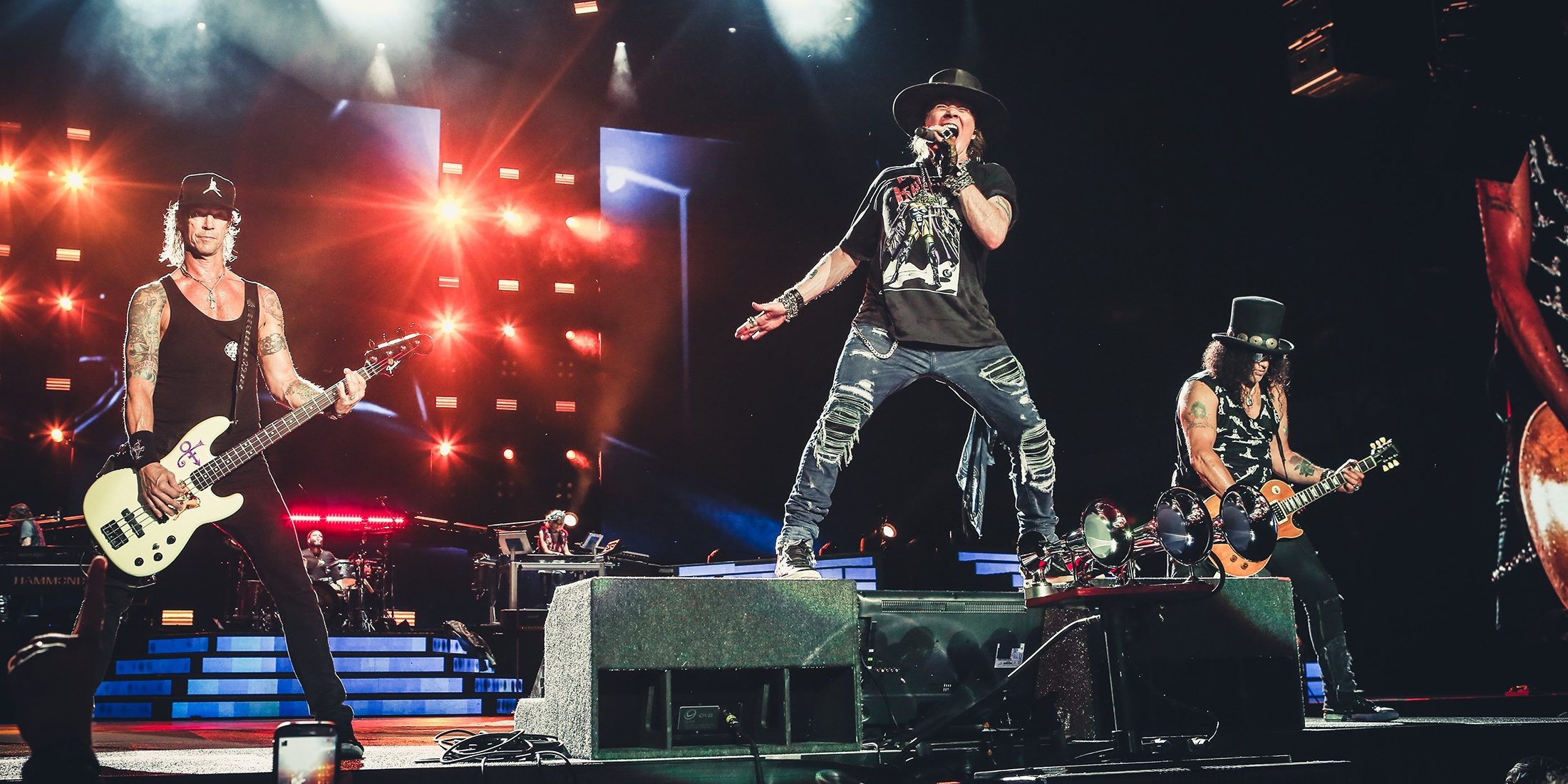 In case you're planning to catch Guns N' Roses more than once, they'll also be playing Bangkok
