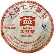"2011  Menghai Dayi  ""0532"" from Menghai Tea Factory (berylleb on ebay)"