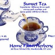 Sunset Tea from Home Farm Herbery