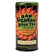 Orange Red Carrot Raw Green Bush Tea from The Republic of Tea