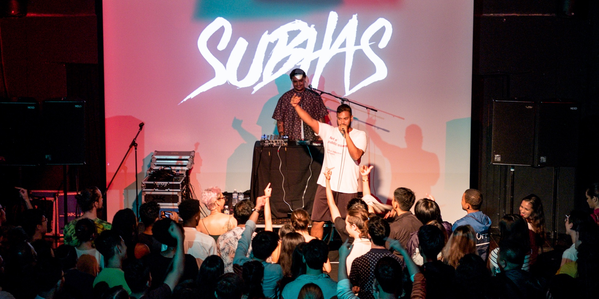 Subhas uses rap to hold a mirror up to society – gig report