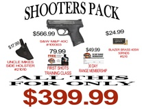 SHOOTERS EXPRESS SHOOTER PACK