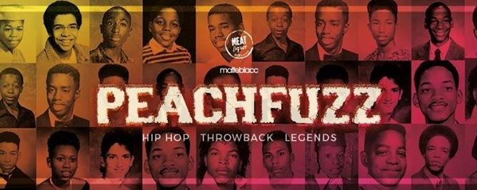 Matteblacc x MEATliquor presents Peachfuzz 2