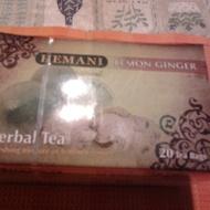 Lemon Ginger Herbal Tea from Hemani