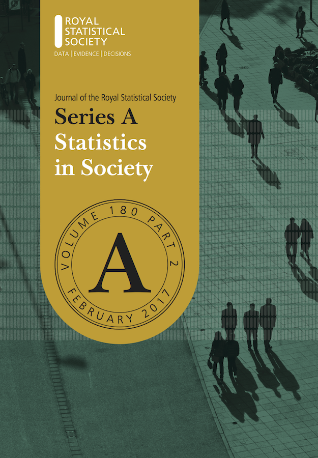 Template for submissions to Journal of the Royal Statistical Society: Series A (Statistics in Society)