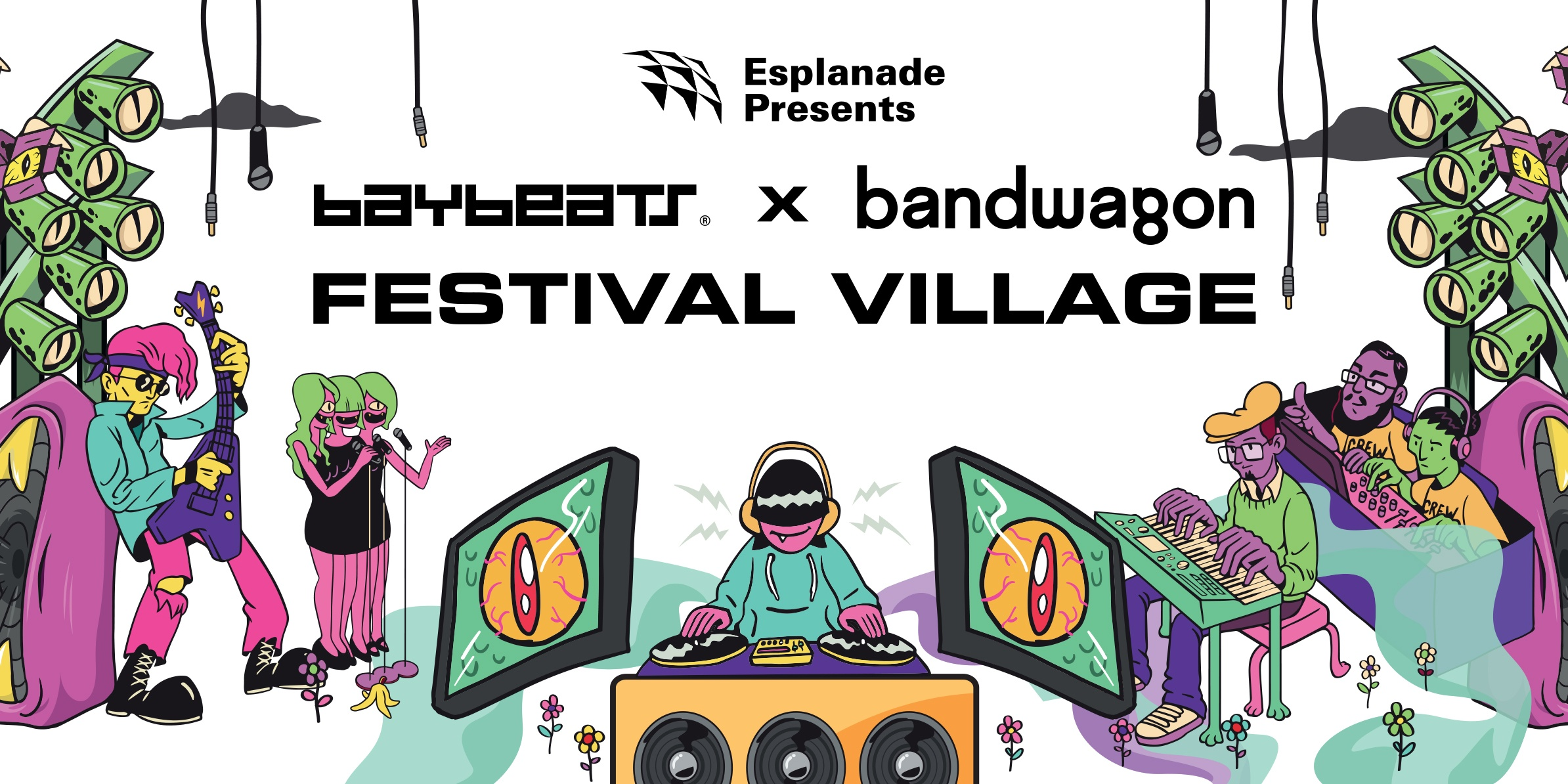 All you need to know about the Baybeats x Bandwagon Festival Village