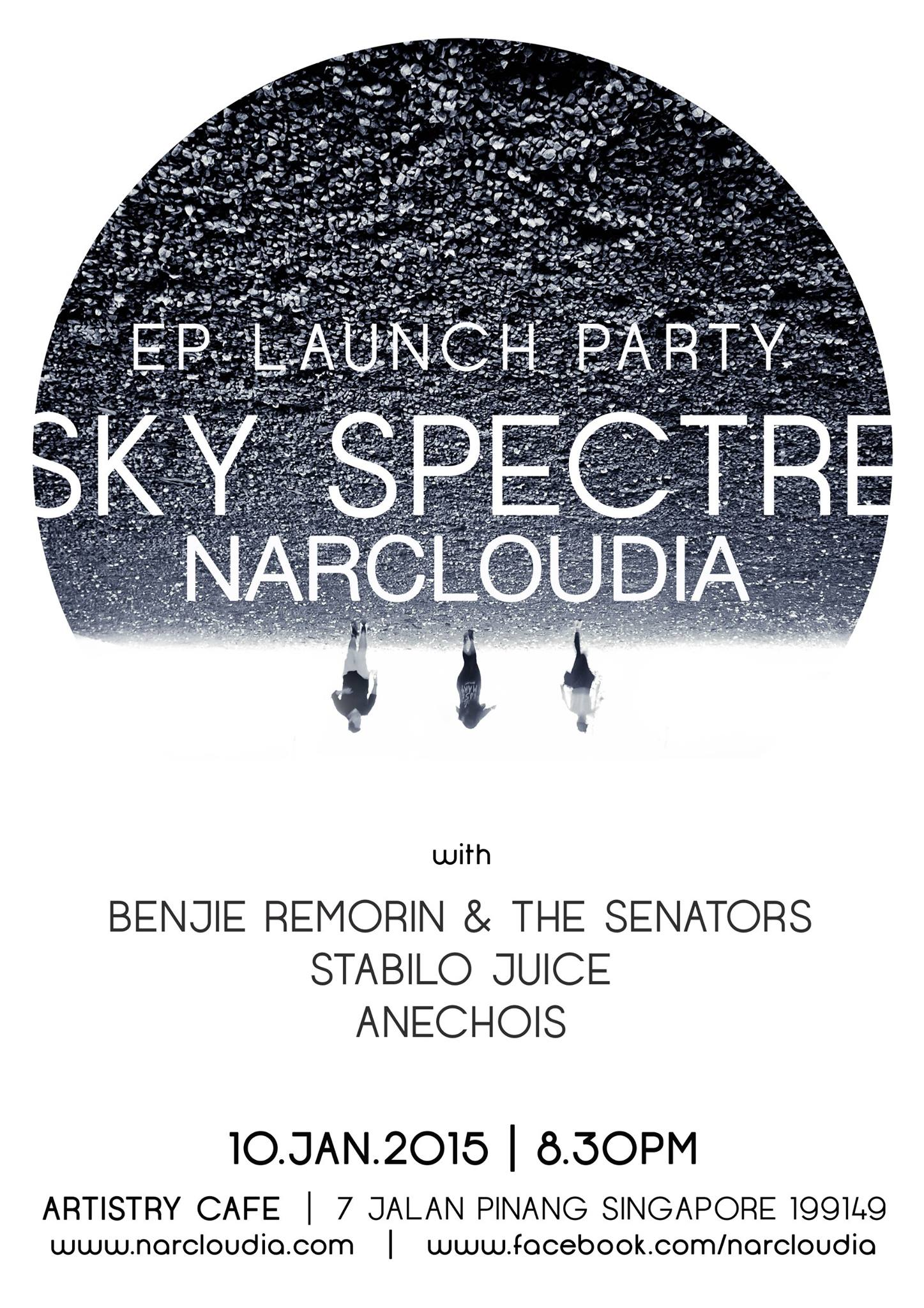 Sky Spectre Narcloudia EP Launch Party