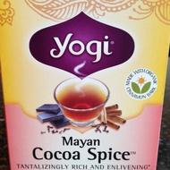 Mayan Cocoa Spice from Yogi Tea